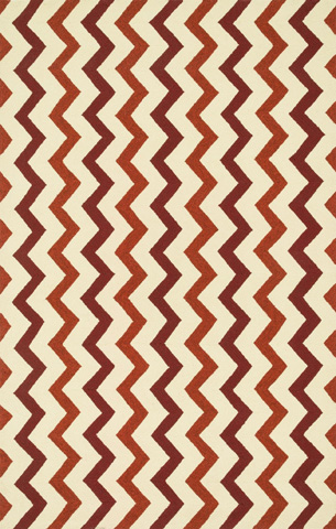 Loloi Rugs - Red and Rust Rug - PM-02 RED / RUST