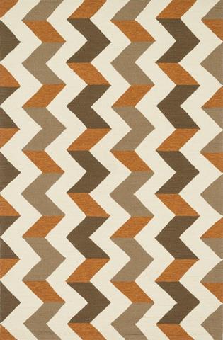 Image of Brown and Orange Rug