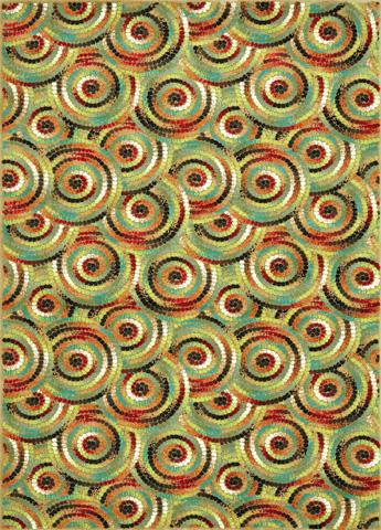 Image of Multi Circle Rug