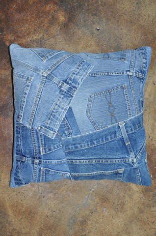 Loloi Rugs - Denim Shorts Pillow - RY-06 DENIM SHORTS