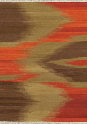 Image of Red and Brown Rug