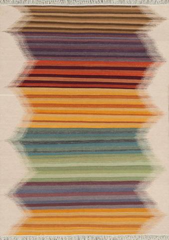 Image of Multi Stripe Rug