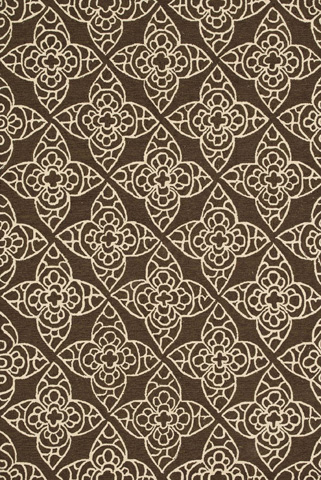 Image of Brown and Ivory Rug