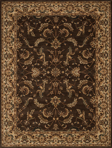 Image of Chocolate and Beige Rug