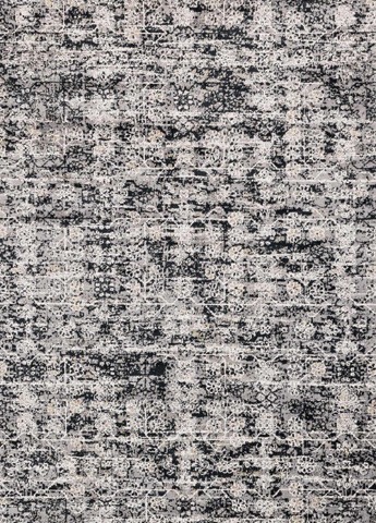 Image of Grey and Ink Rug