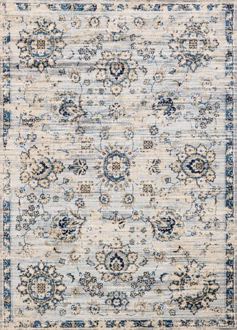 Image of Grey and Navy Rug