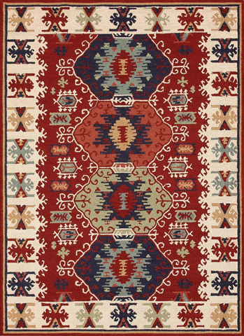 Loloi Rugs - Red Rug - TO-01 RED