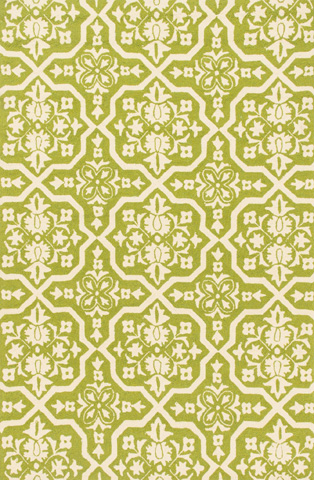 Image of Peridot and Ivory Rug