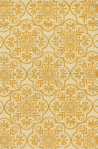 Image of Ivory and Buttercup Rug