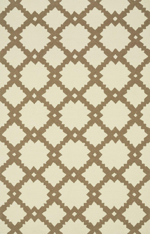 Loloi Rugs - Ivory and Taupe Rug - VB-14 IVORY / TAUPE