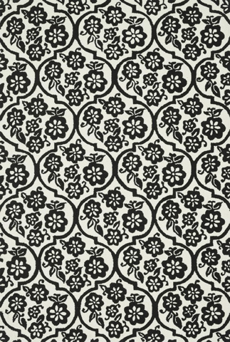 Loloi Rugs - Ivory and Black Rug - VB-15 IVORY / BLACK