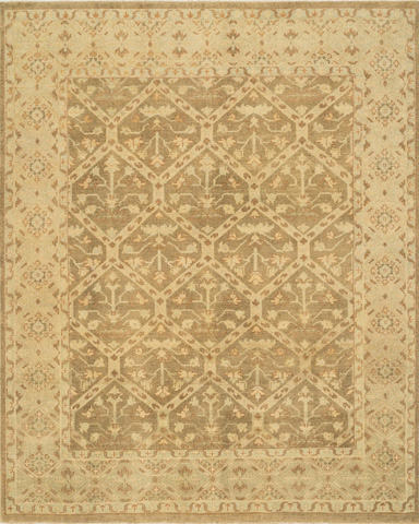 Image of Moss and Gold Rug