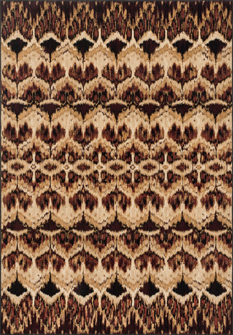Image of Tan and Spice Rug
