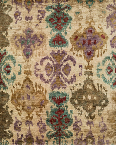 Image of Beige and Multi Rug