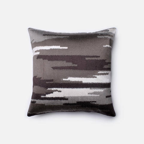 Image of Charcoal and Grey Pillow