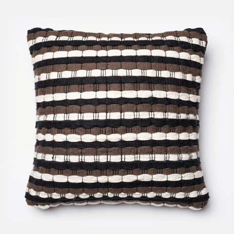 Image of Brown and Black Pillow