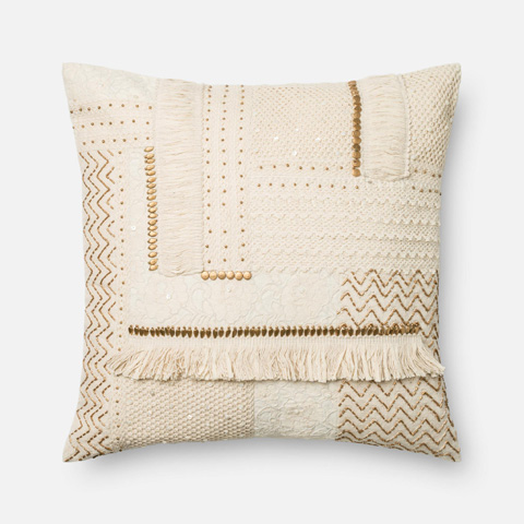 Image of Beige Pillow