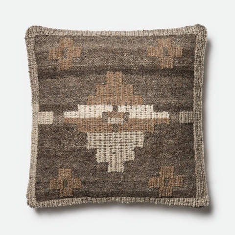 Image of Grey and Brown Pillow