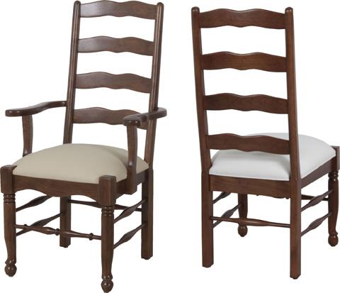 Lorts - Ladder Back Arm Chair - 1114