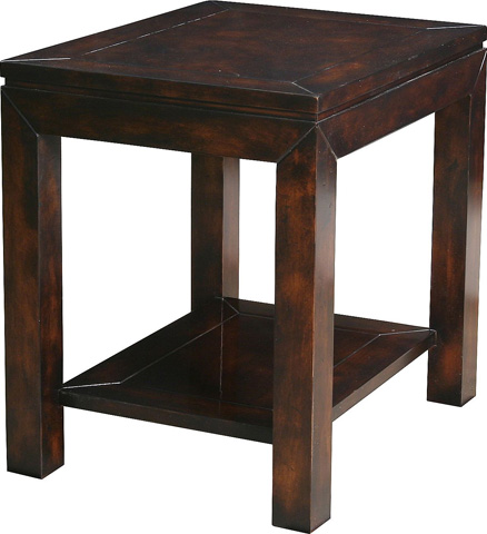 Lorts - End Table with Shelf - 320106