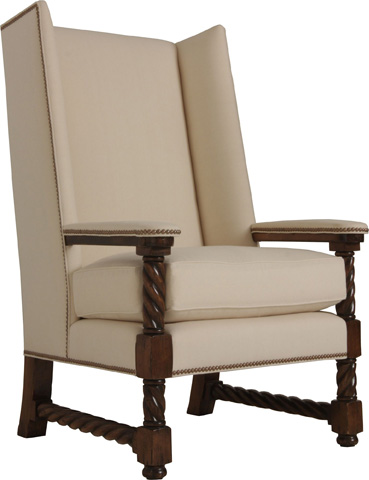 Lorts - Upholstered Wing Chair - 861