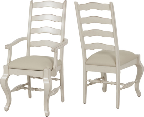 Lorts - Ladder Back Arm Chair - 914
