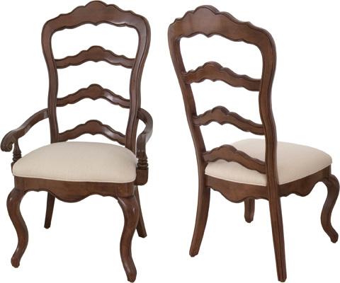 Lorts - Ladder Back Arm Chair - 9650