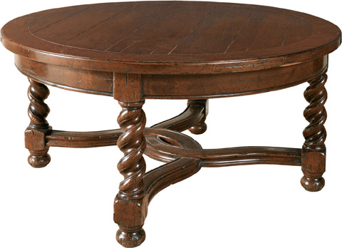 Lorts - Round Cocktail Table - 9675