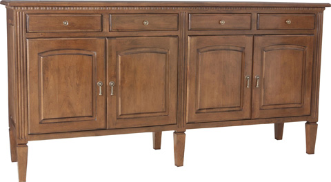 Lorts - Four Door and Drawer Buffet - 9704