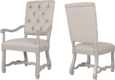 Lorts - Upholstered Arm Chair - 9792