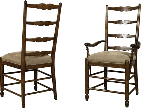 Lorts - Ladder Back Arm Chair - 9796