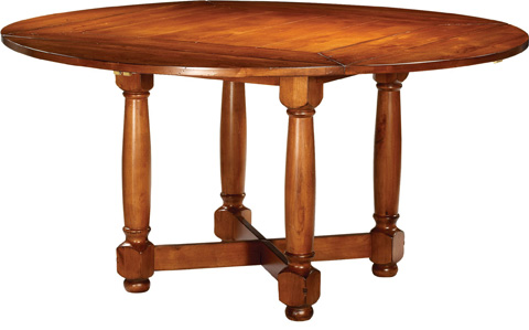 Lorts - Square to Round Dining Table - 1173/1140B