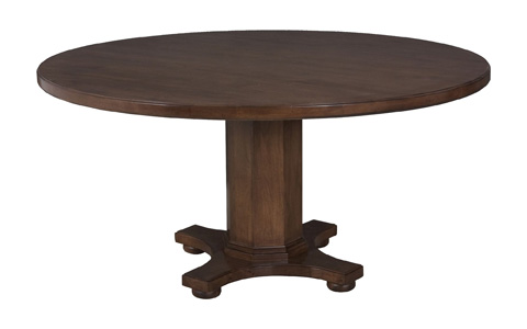 Lorts - Round Pedestal Dining Table - 8448/8619