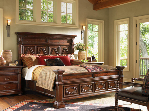 Lexington Home Brands - Pine Lakes Bed 6/6 King - 455-134C