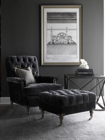 Lillian August Fine Furniture - Blazer Ottoman - LA4115OT