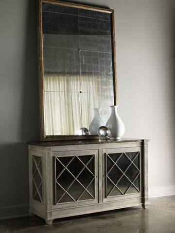 Lillian August Fine Furniture - Duke Wall Mirror - LA95344-01