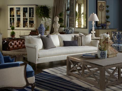 Lillian August Fine Furniture - Kelton Cocktail Ottoman - LL8112OT