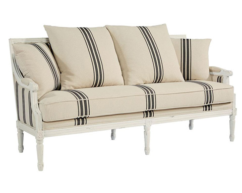 Image of Parlor Settee Sofa