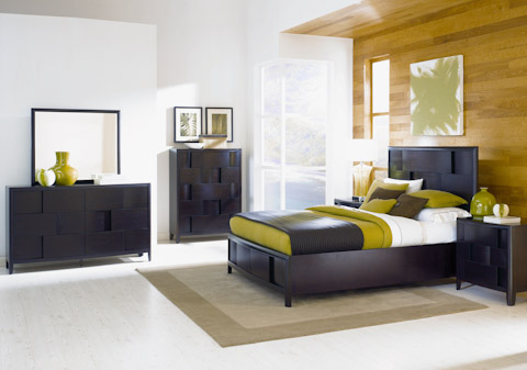 Image of Nova Chestnut Storage Platform Bedroom Set