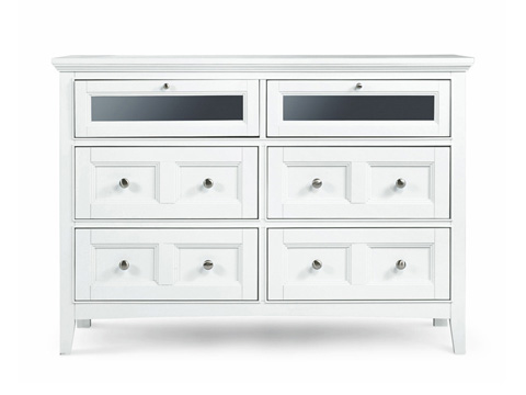 Magnussen Home - Kentwood White Four Door Media Chest - B1475-36