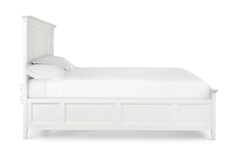 Image of Kentwood White Panel Bed