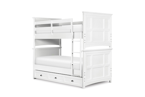 Image of Kenley White Bunk Bed