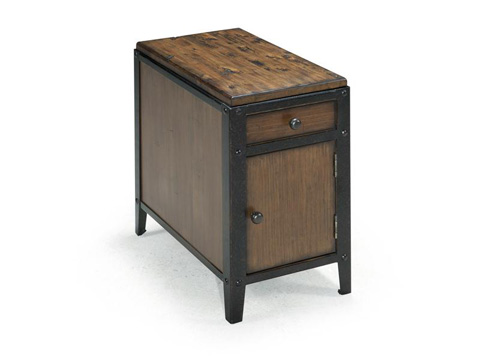 Image of Chairside Door End Table
