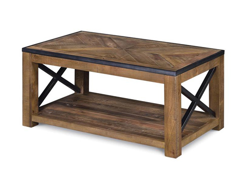 Magnussen Home - Small Rectangular Cocktail Table - T2386-43