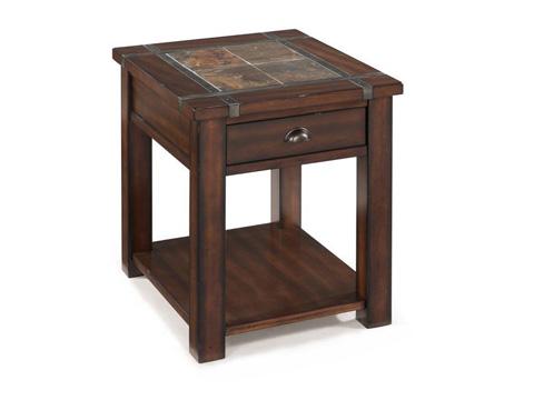 Magnussen Home - Rectangular End Table - T2615-03
