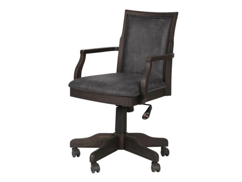 Image of Fully Upholstered Desk Chair