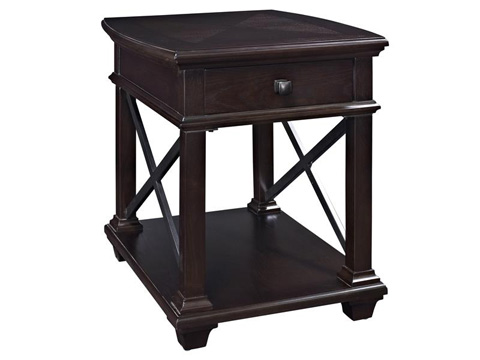 Magnussen Home - Rectangular End Table - T2778-03
