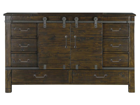 Image of Sliding Door Dresser