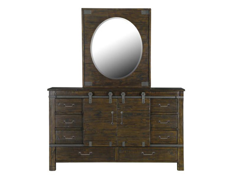 Image of Portrait Oval Mirror