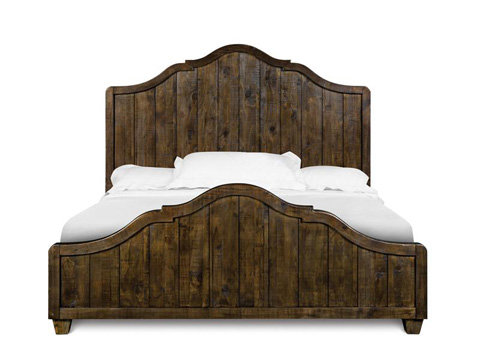 Image of California King Panel Bed